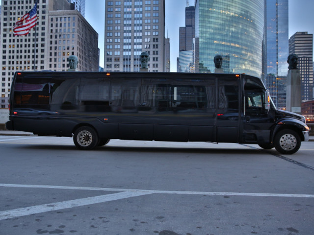 Party Bus Exterior